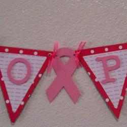 HOPE Pink Banner for the support of Breast Cancer